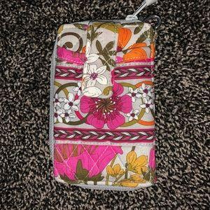 Vera Bradley cellphone wallet